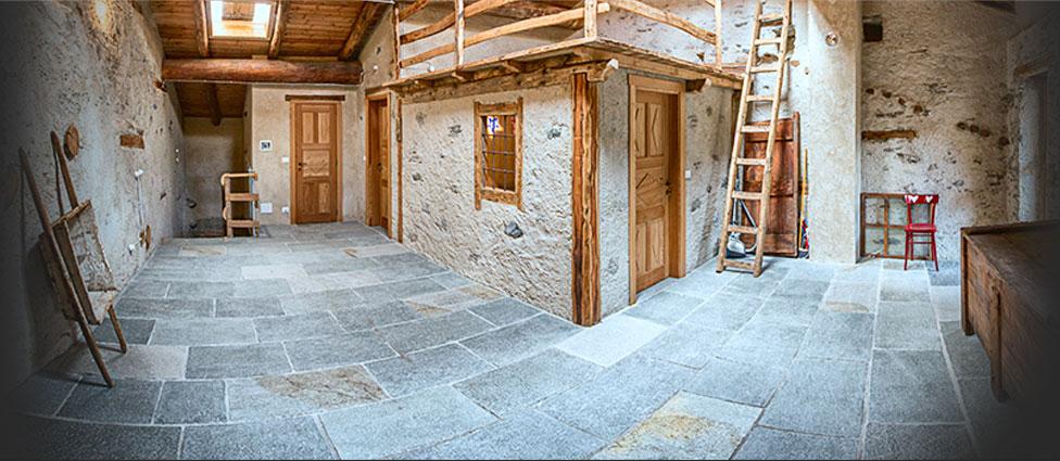 Costruzione e restauro di case antiche edifici storici e for Ville antiche interni